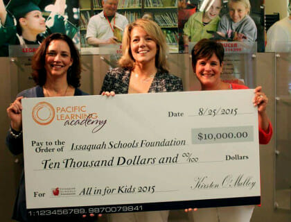 Supporting the Issaquah Schools Foundation