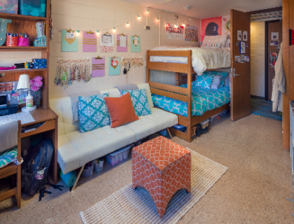 My dorm room never looked like that!